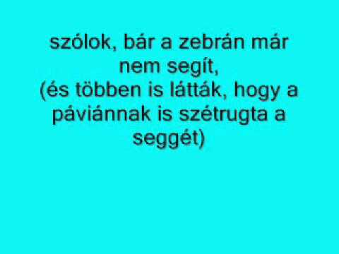 Anna And The Barbies - Nyuszika(LYRICS)