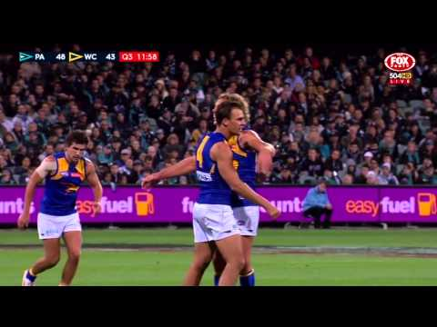AFL 2015 Round 6 Port Adelaide v West Coast Match Replay