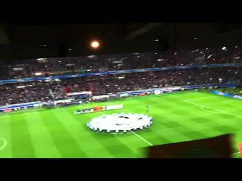Parc des Princes - UEFA Champions League 1/4 Finale Aller PSG / Chelsea 02/04/2014
