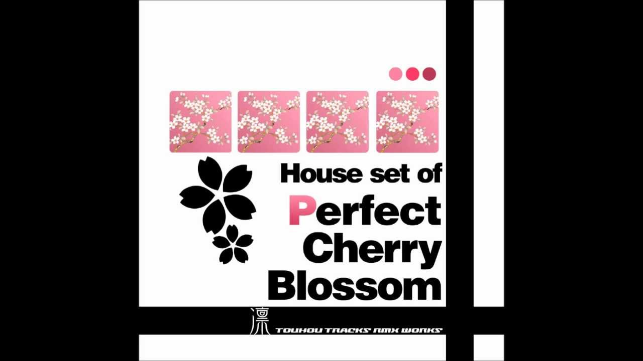 Cherry Blossom House House Set of Perfect Cherry