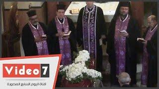 بالفيديو   مراسم تشييع جثمان الفنان الراحل يوسف العسال