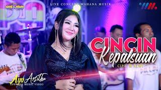 Cover Lagu - AYU ARSITHA ft NEW PALLAPA  CINCIN KEPALSUAN LIVE CONCERT WAHANA