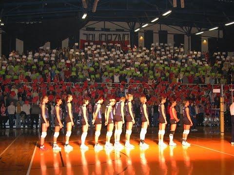 Mecz Reprezentacji Polski W Siatkówce Kobiet Z Bułgarią -  Jaworzno 29.12.2003