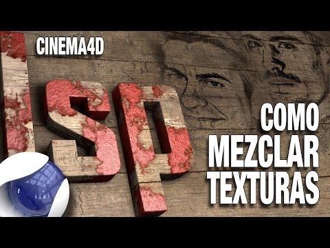 Tutorial cinema4D como mezclar texturas by ildefonsosegura