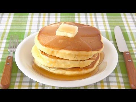 Hot Cake (Japanese Pancakes) ホットケーキの作り方 (パンケーキ レシピ) - OCHIKERON - CREATE EAT HAPPY