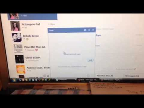 How to make a private group chat on Facebook.