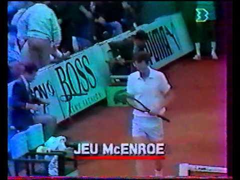 チャン vs マッケンロー - ローランギャロス 1988 - 06/08