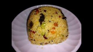 How to Prepare Wheat Rava Upma Recipe in Pressure Cooker గోధుమ రవ్వ ఉప్మా తయారు చేయడం?