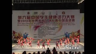 李杰锋指导广州市海珠区少年宫参加全国啦啦队比赛获冠军