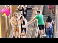 SPREADING LOVE WITH A TOUCH PRANK (AT PLAYLISTLIVE)