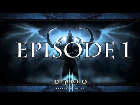 Diablo 3 RoS Walkthrough   Witch Doctor   Level 1- 70   Episode 1