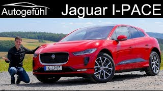 Jaguar I-PACE FULL REVIEW - can the first Jaguar iPace EV beat Tesla and Audi? - Autogefühl