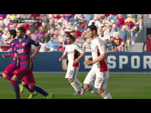 Fifa 16 - UEFA Champions League! Fc Barcelona Vs Bayer 04 (Group Stages) (Match #6)