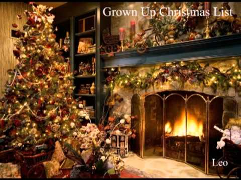 Grown Up Christmas List (Michael Buble) - Covered by Leo