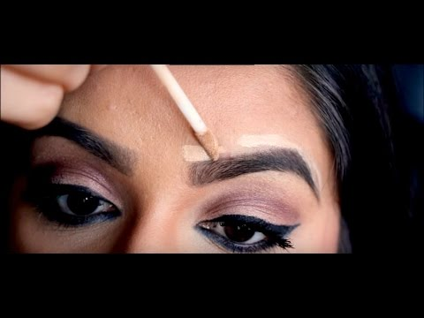 How to get the Perfect Eyebrows: Easy Step by step Eyebrow Tutorial for Arched Brows !!