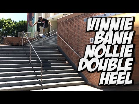 VINNIE BANH HOLLYWOOD HIGH - DO THE DEW SKATE CHALLENGE !!!