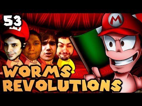 Rollercoaster of Death! (Worms Revolution: The Derp Crew - Part 53)