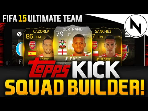 TOPPS KICK PACK & PLAY! - FIFA 15 Ultimate Team