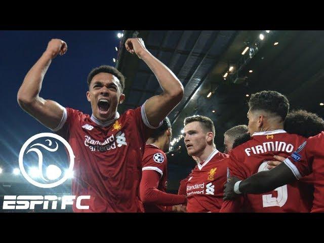 Liverpool shocks Manchester City 3-0 in Champions League quarterfinals | ESPN FC