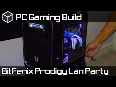 Carbon Fiber Bit Fenix Prodigy Lan Party Gaming Build 2013