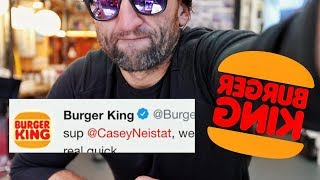 BURGER KiNG Fights back (this is not an ad)