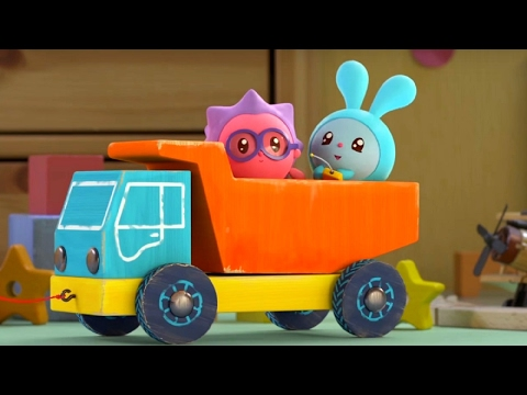 Малышарики - Грузовичок 🚛🚕 - серия 62 - обучающие мультфильмы для малышей 0-4🌼