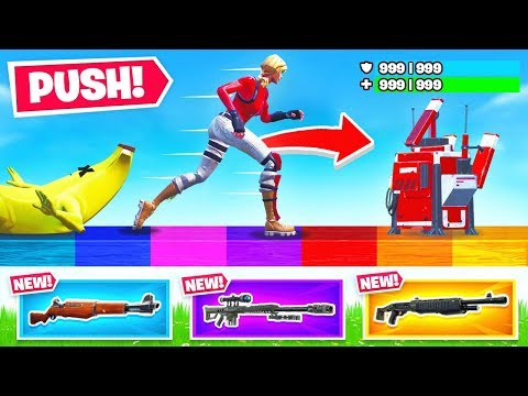 Push The RARITY *NEW* Game Mode in Fortnite Battle Royale