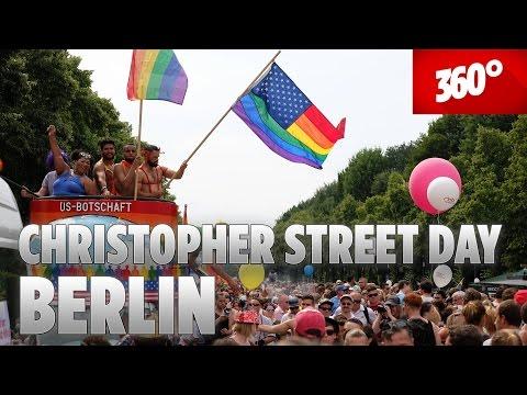 CSD Berlin 2016 - in 360° - Einmal im Kreis auf dem Christopher-Street-Day Berlin