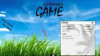 GMIT 2011 Final Year Project -  2D Physics Game