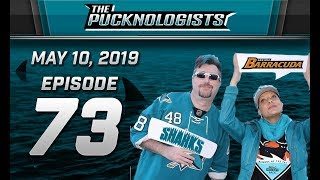 The Pucknologists - EP 73 - Round 2 - San Jose Sharks vs Colorado Avalanche - 2019 NHL Playoffs