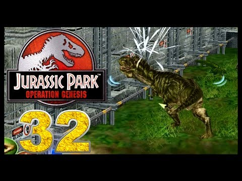 Jurassic Park: Operation Genesis - Episode 32 - TRex Rampage