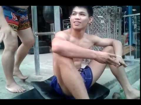Tor Shows Strength Training for Muay Thai Clinch - Yodwicha Uses This Image 1