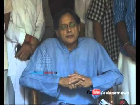 Shashi Tharoor replying on Sunanda Pushkar murder allegations