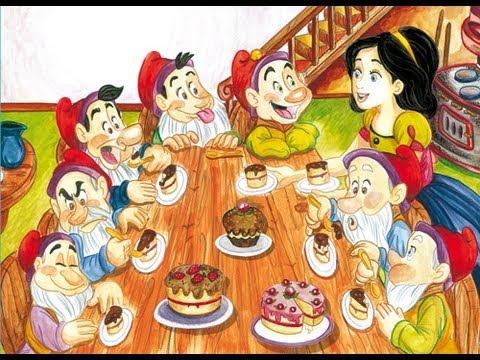 Blancanieves y los 7 enanitos. Cuentos cortos para niños
