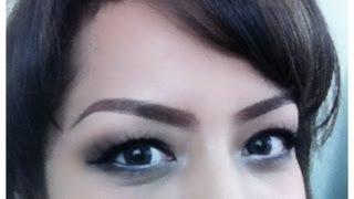 how to: Membentuk Alis Mata dengan pencil alis / Eyebrow Tutorial ( Indonesia subtitle )