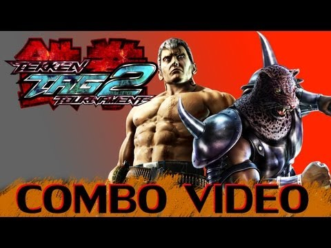 TEKKEN TAG 2 - Combo Exhibition