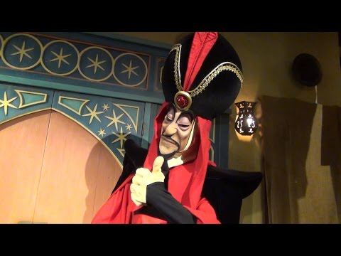 Jafar Greets Us at Mickey's Not So Scary Halloween Party, We Ask About Abu, Disney World