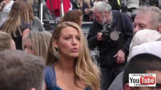 Blake Lively at Ryan Reynolds Hollywood Walk Of Fame Star Ceremony