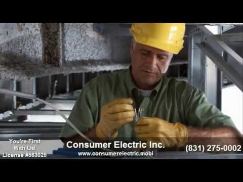 Monterey Commercial Electrician |831-275-0002|Commercial Electrician in Monterey CA|Services|93940