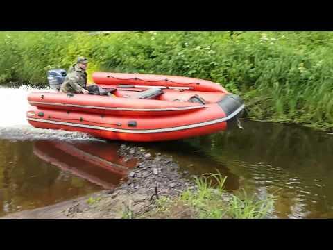 лодка абакан 380 видео