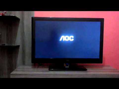 Defeito TV AOC - Desligando led´s