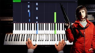 download musica La Casa de Papel My Life Is Going On - Cecilia Krull Synthesia Piano Tutorial