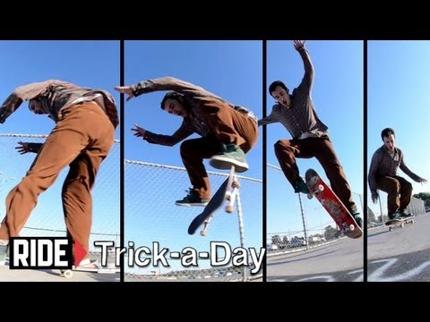 How-To Frontside Kickflip With Tony Manfre - Trick-a-Day