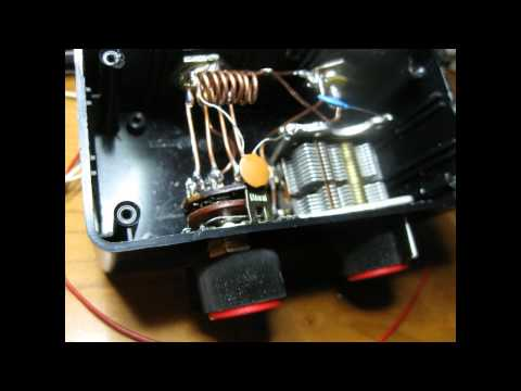 DIY VHF ANTENNA TUNER made from junk