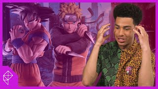 Goku vs. Naruto: Black-ish star Marcus Scribner settles it in a game of Jump Force
