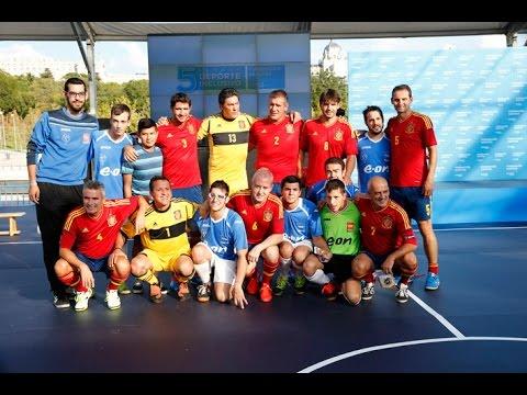 Los veteranos de la Selección reivindican el deporte inclusivo
