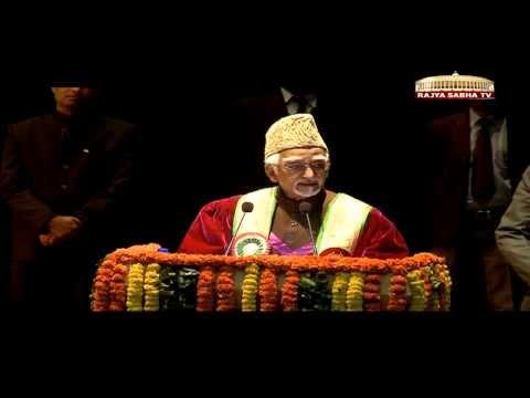 Shri M Hamid Ansari's address at the 4th Convocation of Shri Mata Vaishno Devi University, Katra