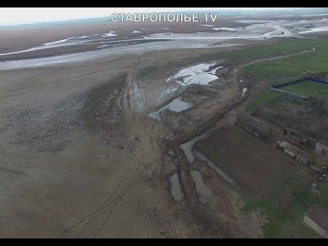 На Ставрополье река Калаус выходит из берегов