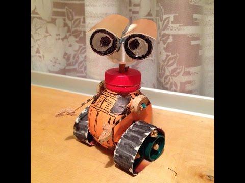 Поделка робот в домашних условиях