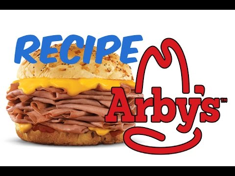 RECIPE - Arby's Big Beef & Cheddar